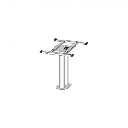 固定式双支柱桌架