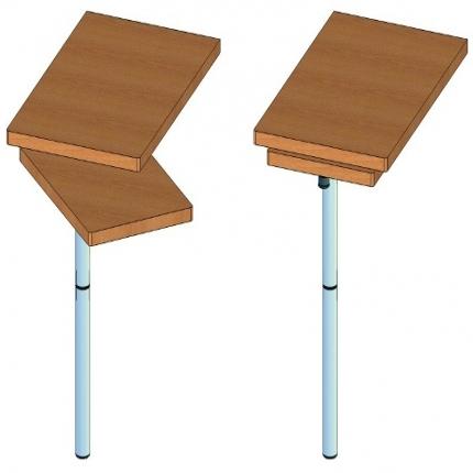 可折叠桌架——7352 GRA